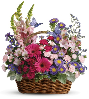 Country Basket Blooms