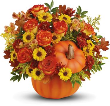 Warm Fall Wishes Bouquet