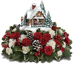 Thomas Kinkade\'s A Kiss For Santa