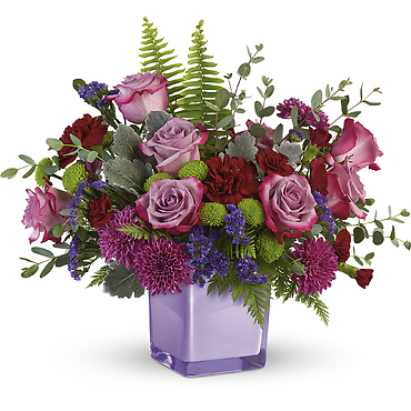 Purple Serenity Bouquet
